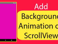 React Native Add Background Animation on ScrollView Scroll Event