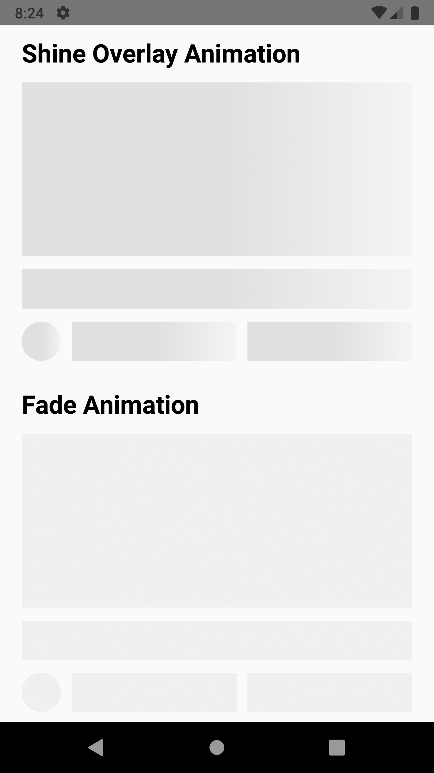 React Native Animated Placeholder