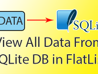 View All Data From SQLite Database in React Native FlatList Example