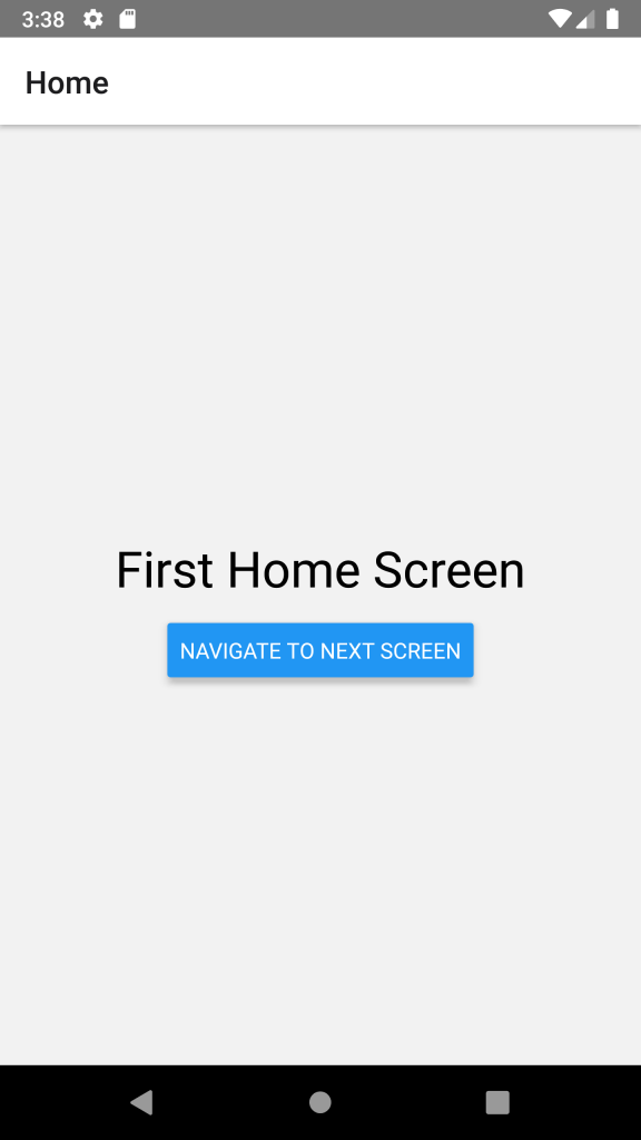 React Native Refresh Previous Screen on Go Back React Navigation Example