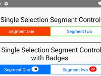 React Native Segmented Control Tab Android iOS NPM Example