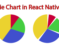Example of Creating Pie Chart in React Native Android iOS App